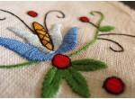 Fartuch i rękawice - niebieski tulipan