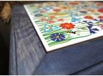 Podstawka pod garnek ceramiczna (kwiaty)