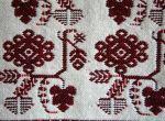 Tkanina dekoracyjna – kwiat dużogłowy