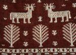 Tkanina dekoracyjna – drzewo życia i jelonki