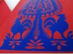 """Carte postale des Kurpies - """"leluja"""" (deux oiseaux)"""