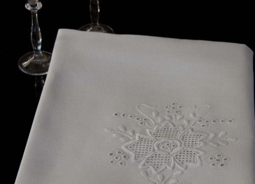 Nappe blanche