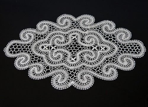 "Lace from Bobowa ""snail"""