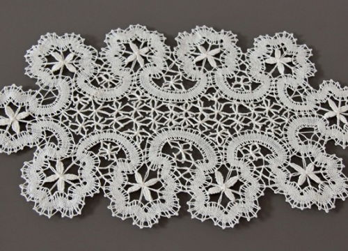 Floral lace from Bobowa