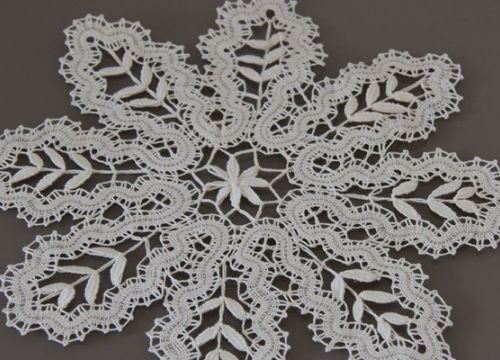 "Lace from Bobowa ""dębówka"""