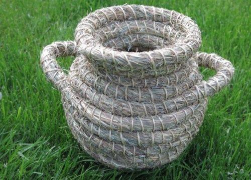 A hay pot