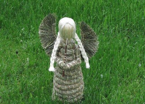 Anioł z siana (średni)