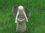 Un ange en foin (grand)