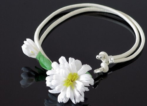 Daisy necklace (long) - colorful collection