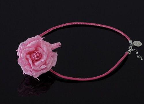 Naszyjnik róże (obręcz) - kolekcja mono
