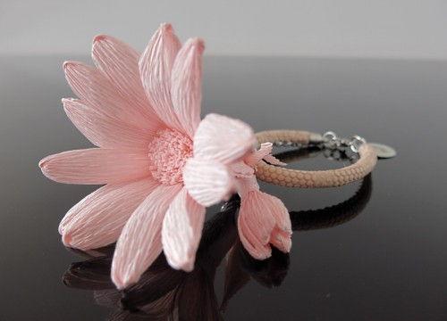 Bransoletka margerytka - kolekcja mono