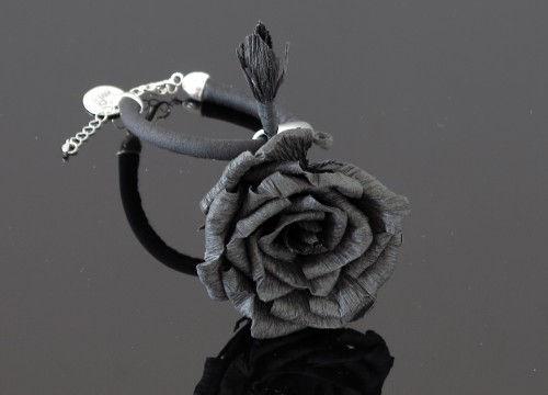 Bransoletka róża - kolekcja mono