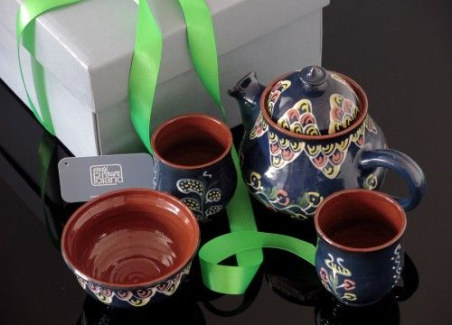 Kashubian ceramics set