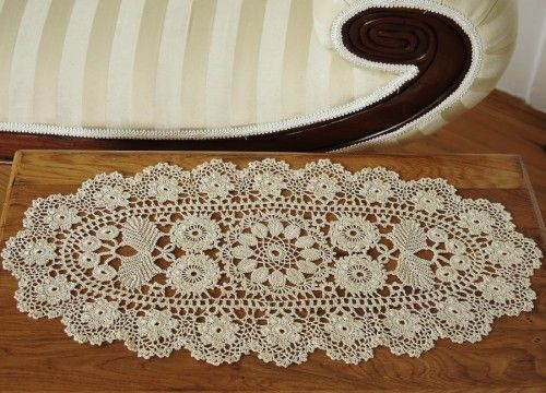 Oval lace from Koniakow