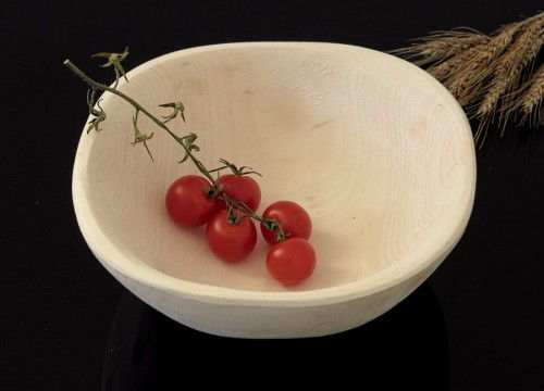 Alder-tree wooden bowl (big I)