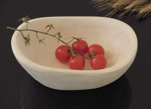 Alder-tree wooden bowl (medium VII)