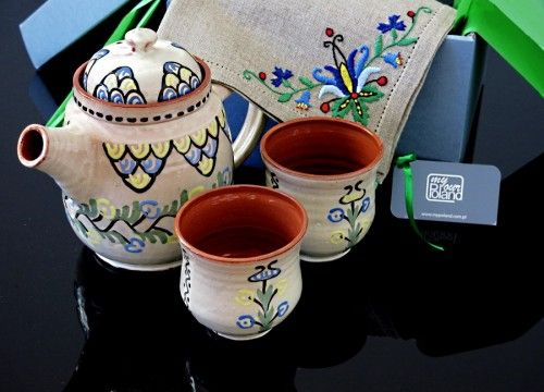 Kashubian ceramics set (II)