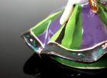 Laleczka dzwonek (fioletowo-zielona)
