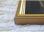 Koguty w złotej oprawie (czarne passe partout)