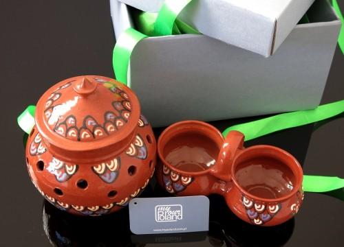 Kashubian ceramics set (III)