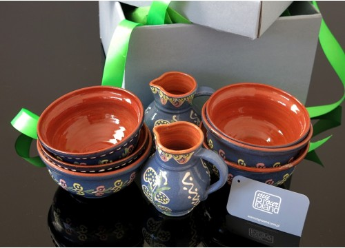 Kashubian ceramics set (I)