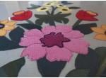 Obraz z materiału - zalipiańskie kwiaty