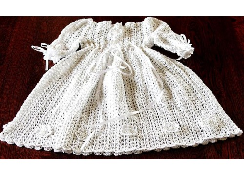 Baptism dress on request