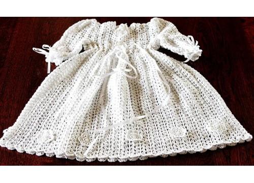 Sukienka do chrztu na zamówienie