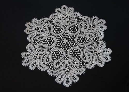"Lace from Bobowa - ""snowflake"""
