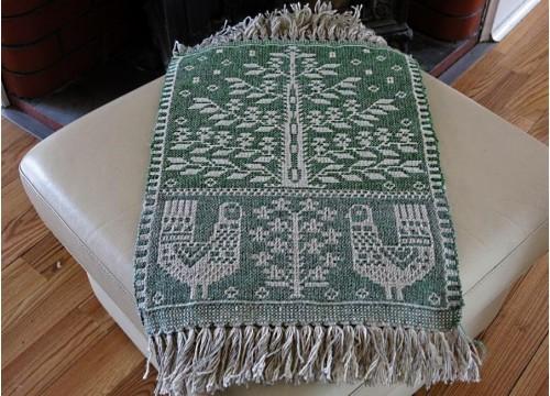 Tissu décoratif -coqs I