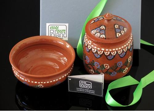 Zestaw ceramiki kaszubskiej (VIII)