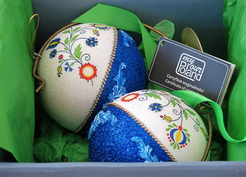 A set of Kashubian Christmas balls (I)