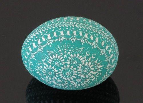 Oeuf de Pâques vert