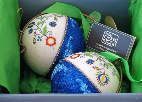 A set of Kashubian Christmas balls (IV)