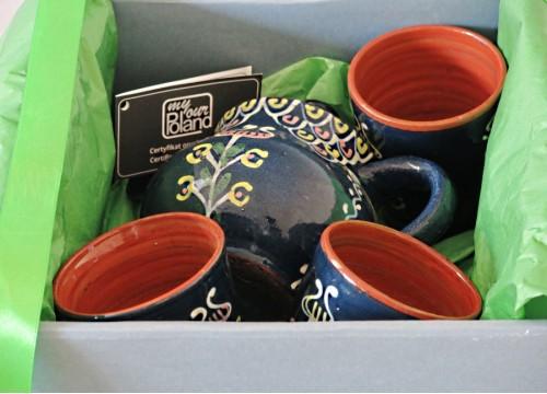 Zestaw ceramiki kaszubskiej (X)