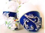 A set of Kashubian Easter eggs