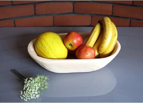 Longitudinal alder bowl (I)