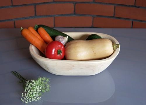 Alder wood bowl