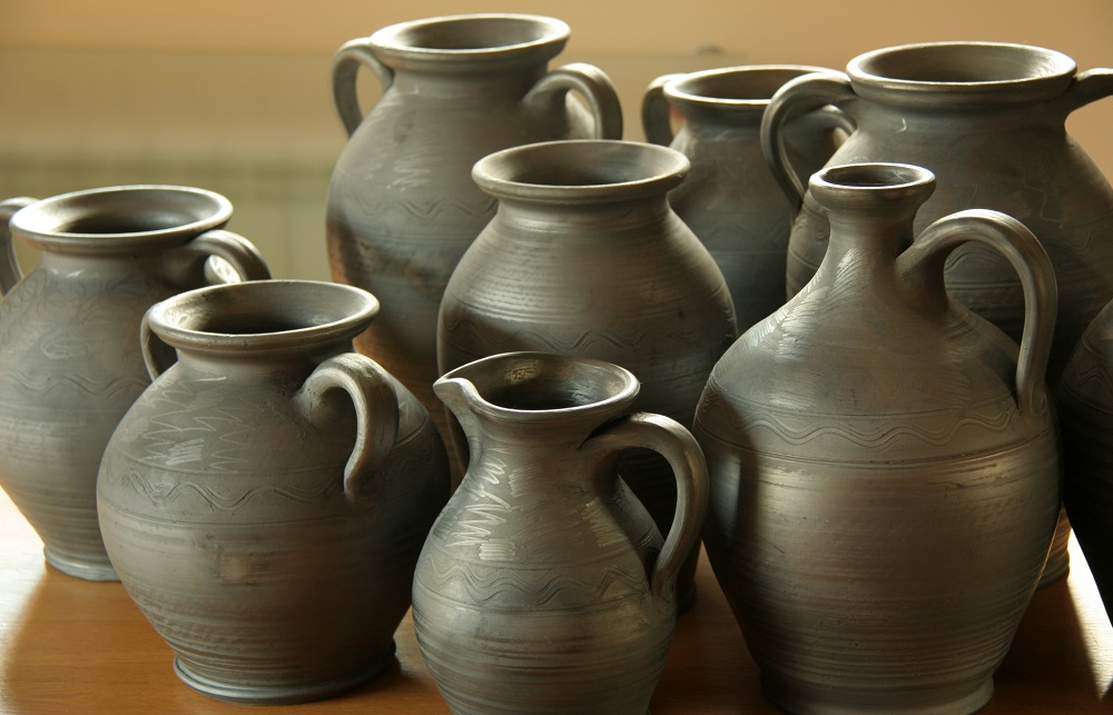 Polish grey ceramics - shapes