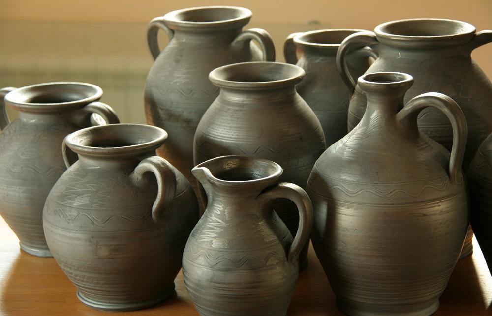 Polish grey ceramics - shapes