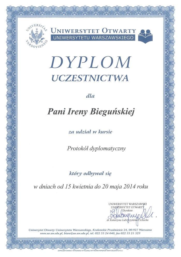 Prezenty protokolarne - My Poland